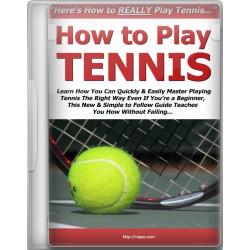 آموزش تنیس از مبتدی تا حرفه ای