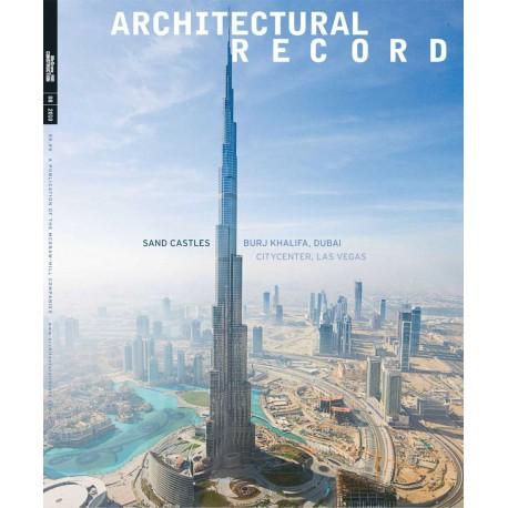 مجموعه مجلات رکوردهای معماری از سال 2003 تا 2013