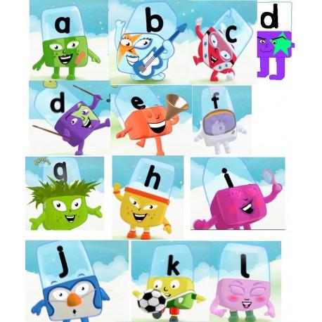 آموزش الفبای انگلیسی کودکان Alpha Blocks
