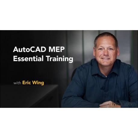 آموزش طراحی سیستم های لوله کشی، الکتریکی، گرمایشی و سرمایشی با استفاده از نرم افزار AutoCAD MEP